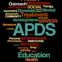 APDS Word Cloud Graphic
